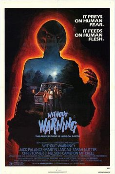 Directed by Greydon Clark. With Jack Palance, Martin Landau, Tarah Nutter, Christopher S. An alien creature stalks human prey. 1980's Movies, Cult Movies, Scary Movies, Good Movies, Suspense Movies, Fiction Movies, Movie Film, Movies Online, Horror Movie Posters
