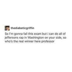 Professor: SHIT FAM R U SERIOUS