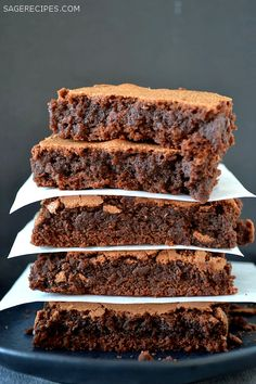 Chewy, rich, and full of chocolate, these are simply The Best Brownies Ever.