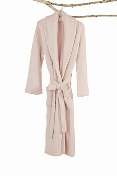 I have this robe and I absolutely LOVE it! Barefoot Dreams BambooChic Pink Robe