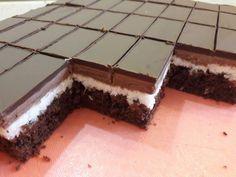 Kokosový rez, recept | Tortyodmamy.sk Dessert Recipes, Desserts, Food, Anna, Basket, Luxury, Tailgate Desserts, Deserts, Essen