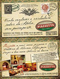 PIAZZETTA Pizzeria Italiana - By Muffa Comunicação / Rio de Janeiro - Brasil / muffa.com.br