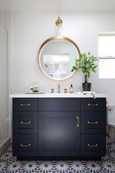 Dark Grey Bathroom Accessories Bathroom Decor Inspiration Dark Teal Bathroom Accessories 20190613 Ju Trendy Bathroom Bathroom Floor Tiles Bathroom Mirror