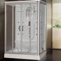Lisna Waters LW27 1400mm x 900mm Steam Shower Lisna Water s LW27 is a 1400 x 900 two person rectangular steam shower cabin Lisna Waters steam showers