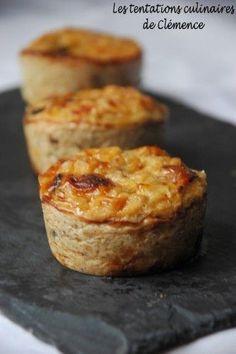 Flans aux oignons et comté comme une pissaladière #recette #flan #facile