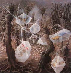 Allegory of Winter - Remedios Varo