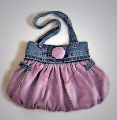lilac bag by recycling by fantazya fantazies, via Flickr