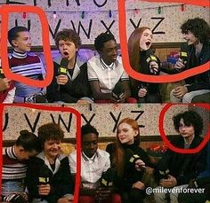 Proof that mileven is real!!!