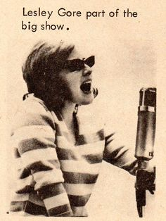 Lesley Gore - Teen Screen - January 1965 - Records at Random - Lesley Gore, Big Show, Image Makers, Vintage Magazines, January, Bands, Teen, Movie Posters, Film Poster