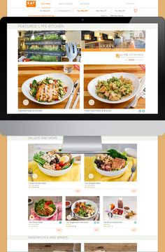 EAT Club lunch menu featured with 1300 on Fillmore | Office Lunch ...