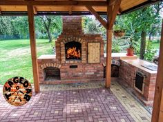 diy brick bbq grill outdoor fireplace with grill brick outdoor fireplace grill a. - diy brick bbq grill outdoor fireplace with grill brick outdoor fireplace grill and bricks how to bu - Outdoor Fireplace Brick, Brick Patios, Diy Fireplace, Outdoor Fireplaces, Diy Pizza Oven, Pizza Oven Outdoor, Pizza Ovens, Outdoor Kitchen Patio, Outdoor Kitchen Design