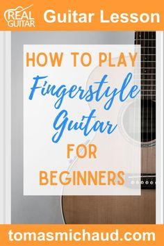 Do you want to learn how to play awesome fingerstyle guitar? In this lesson, I will teach you the basic fingerstyle guitar technique. After learning the basic movements, we will move on to practicing with guitar chords. I will give you some practical tips, so you can master fingerstyle guitar in no time! #fingerstyleguitar #fingerpickingguitar #guitartutorial #playguitar #learnguitar Guitar Tips, Guitar Songs, Acoustic Guitar, Guitar Lessons For Beginners, Music Lessons, Fingerstyle Guitar Lessons, Guitar Fingers, Guitar Chords Beginner, Guitar Exercises