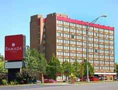 RAMADA PLAZA ALBANY - Make yourself at home in one of the 216 air-conditioned rooms featuring refrigerators and microwaves. Your Select Comfort bed comes with cotton sheets and down comforters. Relax and take in city and pool views from the privacy of your room. Wired and wireless Internet access is complimentary, while 27-inch flat-screen televisions with cable programming provide entertainment. Pet deposit: USD 25 per night
