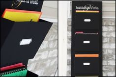 DIY Wall Organizer using cardboard boxes