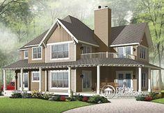 Détail du plan de Maison unifamiliale W2837A-V1