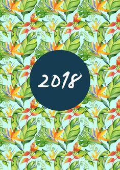 Wandkalender - Kalender 2018 PDF-DATEI - ein Designerstück von ideen-depot bei DaWanda