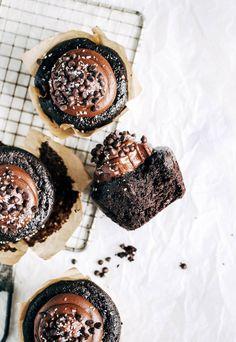 Life-changing paleo chocolate cupcakes