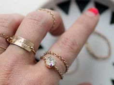 Delicate Chain Ring - Whimseybox