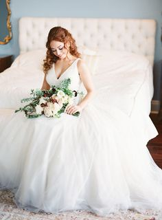 Photography : Justin DeMutiis Photography | Wedding Dress : Inbal Dror Read More on SMP: http://www.stylemepretty.com/2016/07/26/luxury-at-home-florida-wedding/