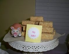 Charlotte's Web Themed Baby Shower