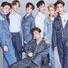 Youngjae, Bambam, Got7 Jinyoung, Kim Yugyeom, Park Jin Young, Jin Young Got7, Fandom, Photo Blue, Tonne