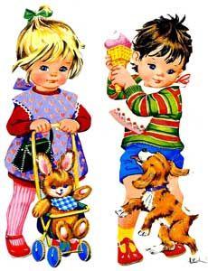 t Vintage Baby Pictures, Vintage Images, Vintage Paper Dolls, Vintage Crafts, Childhood Toys, Childhood Memories, Decoupage Printables, Dolls Prams, Retro Baby