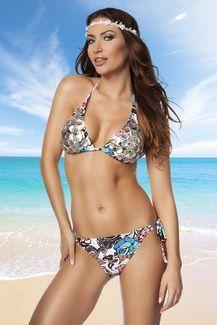 Triangle bikini with seashells and sequins. Removable softcups. http://boholuxury.com/beachwear/ https://www.instagram.com/boho_luxury/
