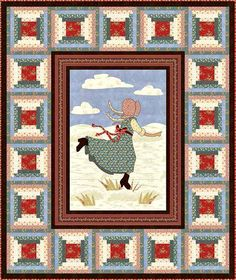 Little House on the Prairie - Prairie Life Free Quilt Pattern & lots more free quilt patterns.