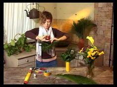 Ботаника. Композиция из веток дуба - YouTube