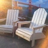 DIY adirondack chair plans