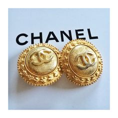 "🎉Host Pick🎉 CHANEL Gold CC Earrings, FINAL SALE ‼️Reduced, LOWEST & FINAL PRICE, Firm‼️ AUTHENTIC gold toned CHANEL CC medallion clip on earrings. Measures: about 1.5"" across. Vintage beauties in good preloved condition. One earring shows more wearing of gold plating on the CC (as shown best in cover pic). Absolutely STUNNING! No box/dustbag but will be gift wrapped. **🚫NO TRADES/PP/LOWBALL🚫** Please ONLY INQUIRE IF SERIOUS about purchasing. 🎉Fashionable Faves Host Pick🎉 Thnx & Happy…"