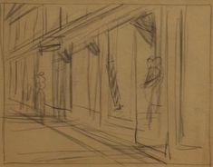 Sketch Artist--Edward Hopper sketch