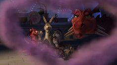 Picture of Shrek the Third Donkey And Dragon, Shrek Dragon, Family Photos, Lion Sculpture, Statue, Christmas Ornaments, Artist, Animals, Donkeys