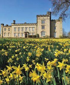 The Tudor Chiddingstone Castle in Kent UK