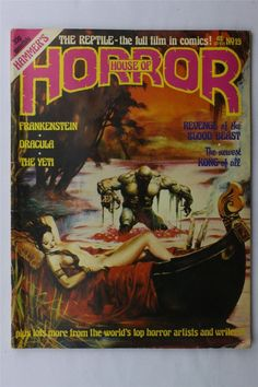 Hammer's House Of Horror 19 April 1978 Magazine Horror Top Sellers Dracula