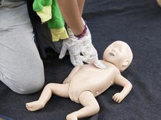 First aid for choking and CPR: An illustrated guide for children 12 months and older | BabyCenter