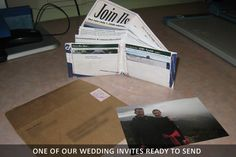 ThinFolio: The Custom Wallet Built From YOUR Images by Mark Abramson — Kickstarter #wedding #invite #photo #diy