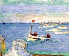 Regatta 1930 - Pierre Bonnard