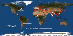 Vídeo: 6 mil anos de urbanização ao redor do mundo