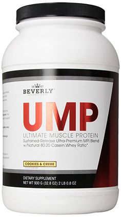 Beverly International Ultimate Muscle Cookies & Cream, 2-pounds 0.8 oz