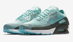 "http://SneakersCartel.com Nike Air Max 90 Ultra 2.0 Flyknit ""Hyper Turquoise"" Coming Soon #sneakers #shoes #kicks #jordan #lebron #nba #nike #adidas #reebok #airjordan #sneakerhead #fashion #sneakerscartel"