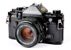 second-hand film cameras Canon A-1