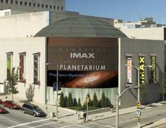 See a very large movie at the Humphrey IMAX Dome Theater.