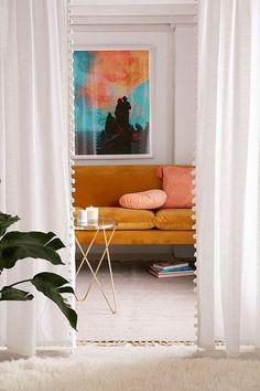 rust sofa +cushions