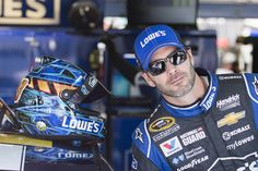 Jimmie Johnson works out every morning. He drives his daughter to preschool. He says the right things and drives the right way and makes friends wherever he goes. In the rowdy world of NASCAR, he's the sport's most consistent winner, year after year. This is not an accident.