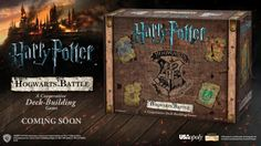 """USAopoly has announced a new Harry Potter-themed """"deck-building game"""" that will pit up to four players against the forces of evil. USAopoly,…"""