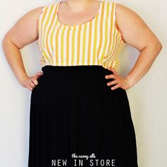 New in store at plus size vintage clothing shop, The Curvy Elle.