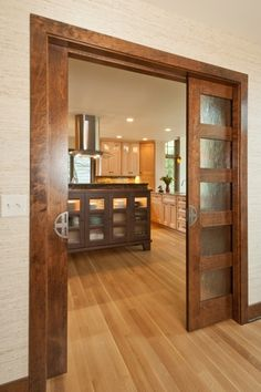 Sliding French Pocket Doors double sliding door pockets | the disappearing door company
