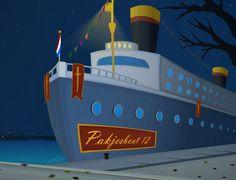 Sinterklaas en de verdwenen chocoladeletters. Een animatie sinterklaas film.
