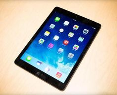 Apple iPad Air: Slim Beauty, Hefty Style